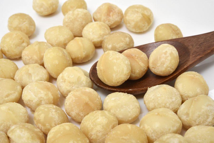 【オススメ②】マカダミアナッツ/5粒(10g):72kcal※1gあたり7.2kcal