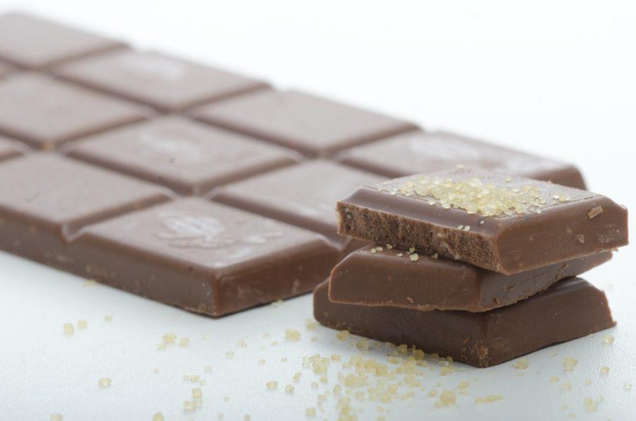 【オススメ④】チョコレート/1個5g:28kcal※1gあたり5.6kcal